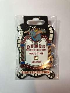 迪士尼襟章 小飛象 Disney pin dumbo LE300