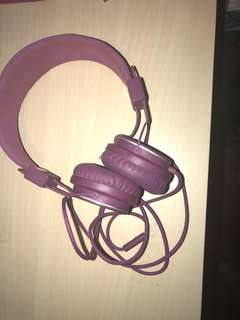 Urbanears headphone purple
