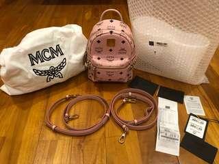 MCM backpack bebeboo pink