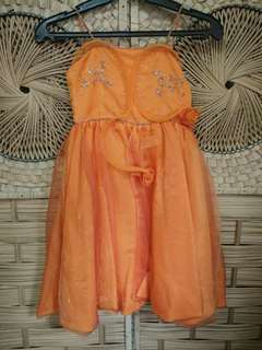 Cute Orange Gown