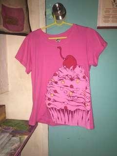 Uniqlo Cupcake T-Shirt