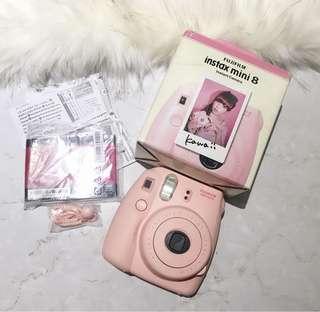 粉色少女心拍立得