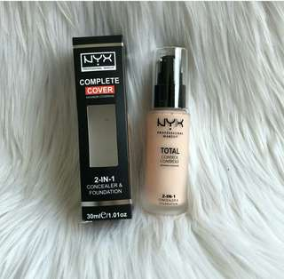#mausupreme Nyx foundii