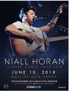 NIALL HORAN DISCOUNTED TICKET
