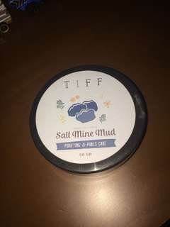 TIFF BODY PEEL OFF MASK SALT MINE MUD