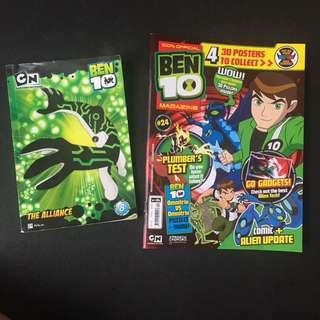 BEN 10 Comics Book ( Free a BEN10 Magazine:)