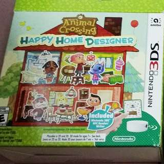Animal Crossing Happy Home Designer bundle with NFC reader