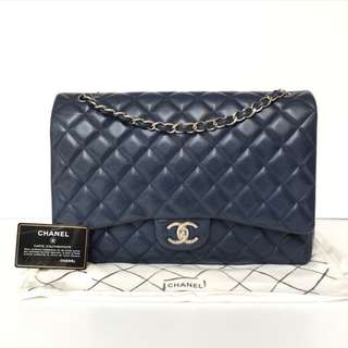 Authentic Chanel Classic Maxi Flap