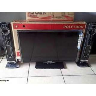 TV POLYTRON LED 32 inch wa 083137569117