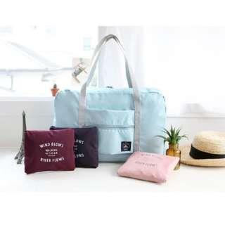 🚀現貨🚀行李拉桿包 旅行手提包 旅行袋 防水收納包 折疊旅行包 可套掛行李箱拉杆 購物袋 野餐包 購物包 隨身旅行袋