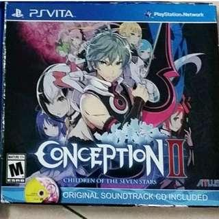 PS Vita Conception II (R1)