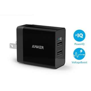 Anker PowerPort 2 Lite Wall Charger with Power IQ