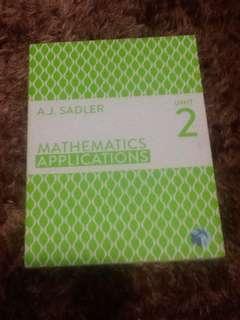 Mathematics Application Unit 2