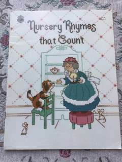 Nursery Rhymes That Count Cross Stitch Book