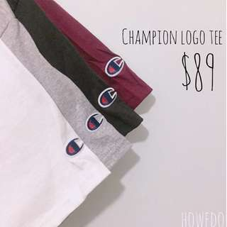 Champion Logo Tee 美版大童裝