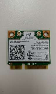Intel® Dual Band Wireless-AC 7260 up to 867Mbps