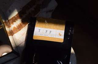 TIFF BODY SCRUB COFFEE AND TUMERIC