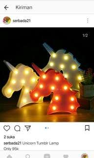Unicorn Tumblr Lamp