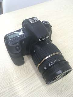 Canon 60D DSLR with Tamron Lens