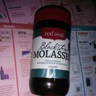 紐西蘭 Red Seal Blackstrap MOLASSES 500g 紅印牌天然純黑糖蜜