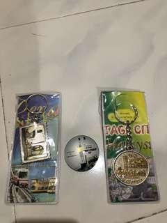 Keychains n magnet from Penang #ramadan50 #wincookies
