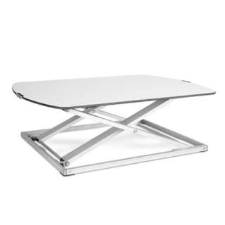 Height Adjustable Standing Desk - White