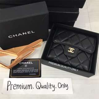 Ready Stock Chanel Lambskin Wallet