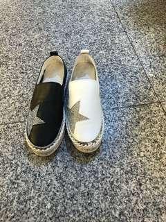 🚚 #女款全真皮水鑽厚底包鞋 超推好穿防滑 👉👉整雙全真皮 🦋36.37.38.39.40 ☝️☝️2色 $$$原價$2280 😱😱😱限量特價$1380