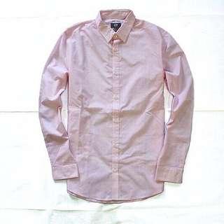Kemeja H&M Soft Pink