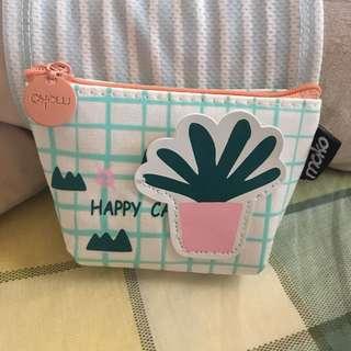 cactus coin purse wallet