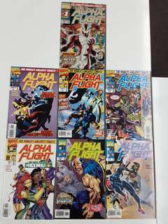 Alpha Flight (1997 2nd Series) Complete Comics Set