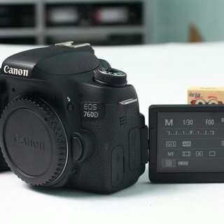 Kamera 760d second
