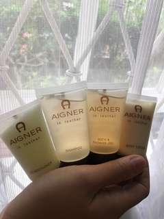 SALE! AIGNER Toilet Amenities Original