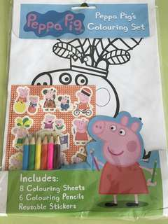 Peppa Pig, Colouring Set