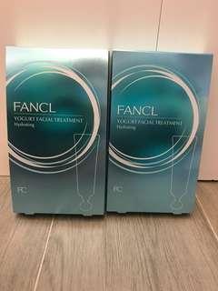 Fancl Yogurt Facial Treatment 乳酪柔膚軟膜 (2 boxes)