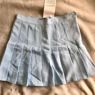 AA inspired skirt/tennis skirt - baby blue