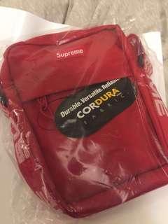 Supreme Red Shoulder Bag S/S 18