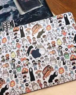 Totoro Doodle Laptop Hard Case