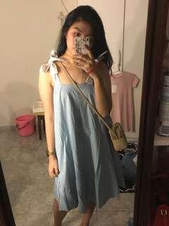 CANTIK BANGETT Impromptu blue dress
