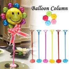 Centerpiece  Balloon Stand (3pcs Asst colors per pack)