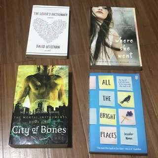 FICTION BOOKS SALE