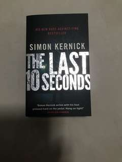 The Last 10 Seconds Simon Kernick