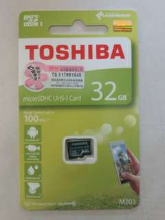 MicroSDHC UHS-I 存儲卡 32GB