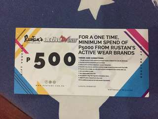 Rustans Active Wear GC