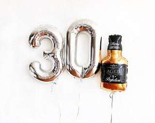 3ft Jack Daniel Balloon sold per piece
