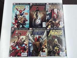 Mighty Avengers Assemble (2007 Marvel) Comics Set