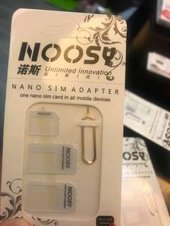 Nano sim adapter 轉換