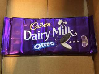 cadbury oreo bar 185 grams