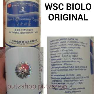 WSC Biolo Wootekh Pelangsing herbal