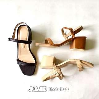Jamie Blocked Heel